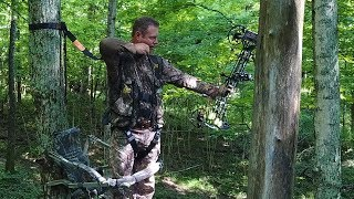 How to Use a Climbing Deer Stand