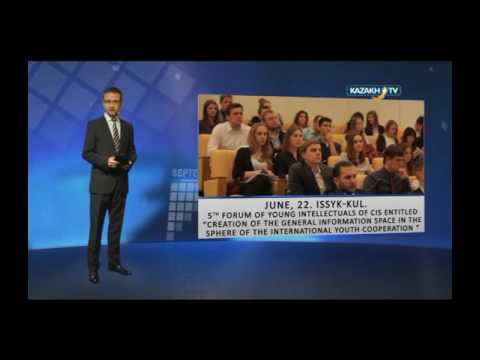 """Events around the corner"" #23 (15.06.2016)-Kazakh TV-eng"