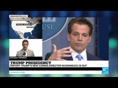 US - White House Comms Director Scaramucci is out