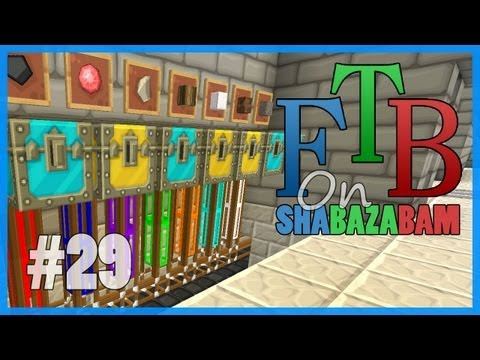 Minecraft FTB - Ep.29 - Sorting Facility Upgrades