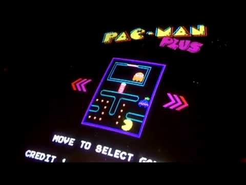 Pac-Man Plus -- Arcade Gameplay