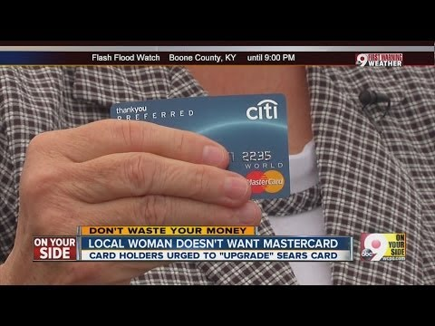 Local woman doesn't want Sears Mastercard