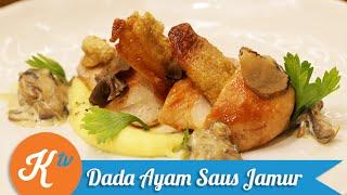 Resep Ayam Saus Jamur