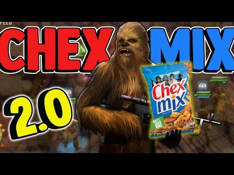 SWGOH CHEX MIX 2.0: Just add Chewbacca! | Star Wars: Galaxy of Heroes
