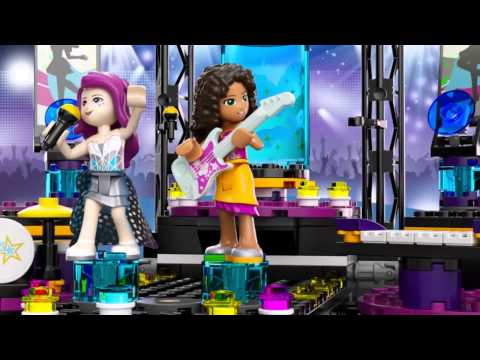 Pop Star Show Stage - LEGO Friends - 41105 - Product Animation