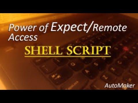 Power of Expect Script to Automate Tasks in Urdu i e ssh telnet uptime  IPaddress