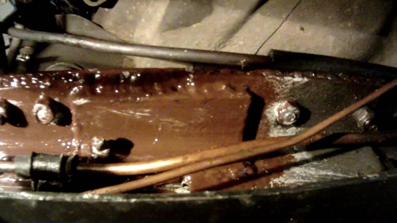 Ремонт рамы газель своими руками видео фото 953