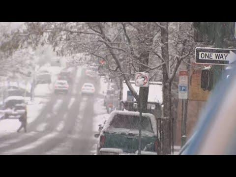 Flagstaff Residents Enjoy First Snow Of The Season