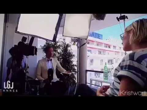 Small video of Kristen Stewart speaking in French in a new interview in Cannes