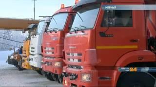 Мирнинская автобаза Горнообогатительного комбината получила несколько единиц тяжелой техники