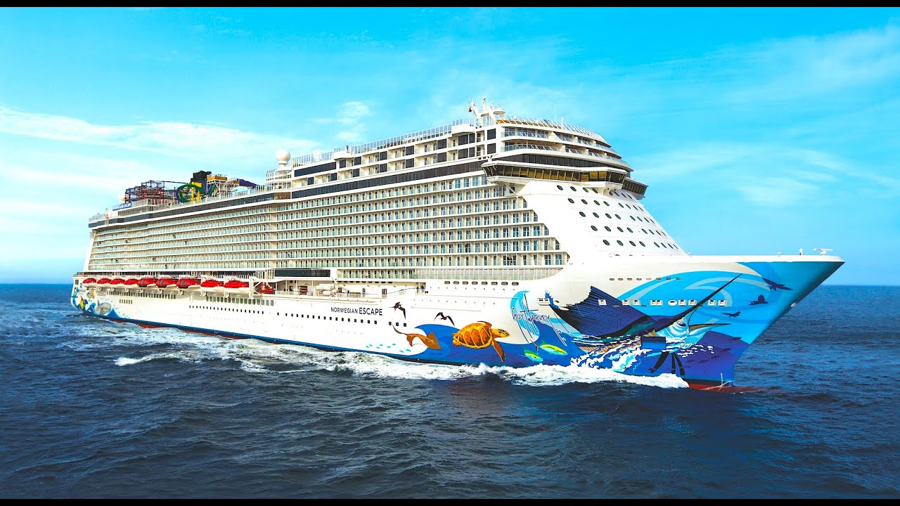 Norwegian Escape Tour Cruise Ship Review Decks And