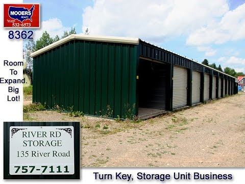 Maine Real Estate, Storage Building Business For Sale MOOERS 8362