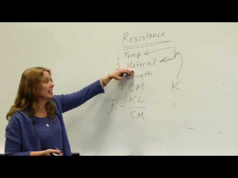 Wire Resistance and Voltage Drop - Polly Friendshuh part 1
