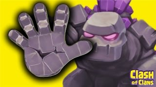"""""""Gangs Of Golems"""" - Clash Of Clans Strategy - 5 Golem Attacks!"""