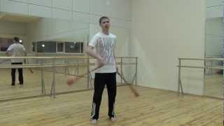 Видео уроки поинга: Кручение поев ( крылья бабочки )