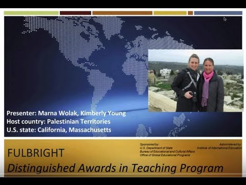 Fulbright Distinguished Awards in Teaching Program in Palestinian Territories