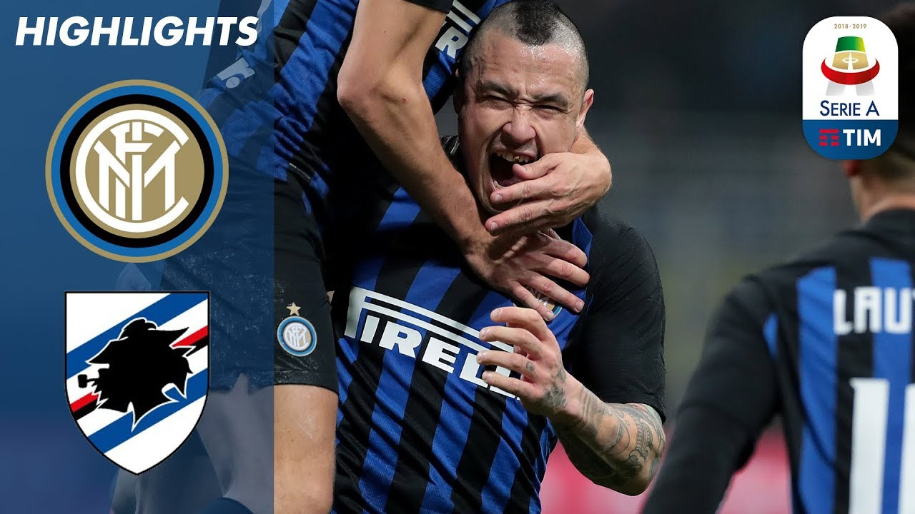 Download Inter 2-1 Sampdoria | Nainggolan Winner Seals Inter Victory | Serie A