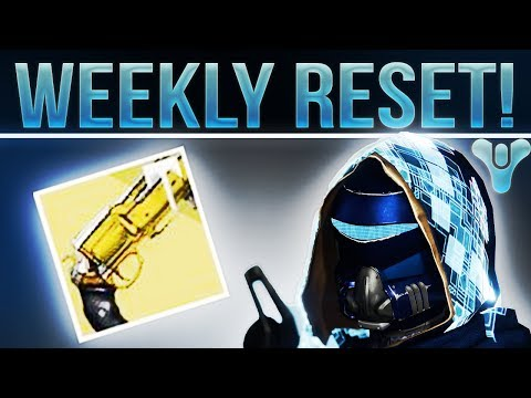 Destiny Weekly Reset! SPONSOR BUTTON HYPE! (Raid, Nightfall, Weekly Heroic's, Crucible and More!)