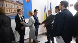 felicitari noul prefect de Sibiu Radu Lucian