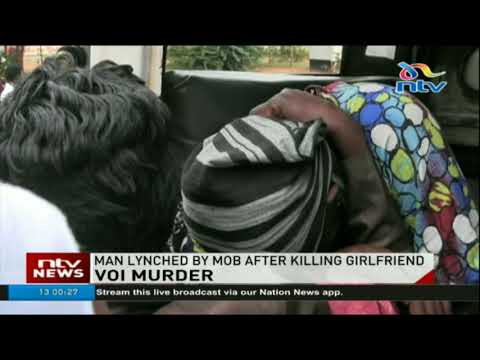 Man lynched by mob after killing girlfriend