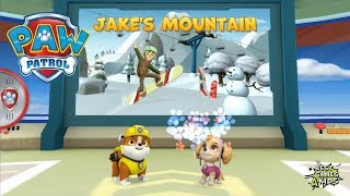 JAKE'S MOUNTAIN w/ RUBBLE & SKYE!   PAW Patrol Rescue Run By Nickelodeon