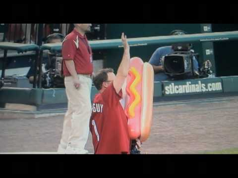 Cardinals' Coach Pete Prinzi Knocked On Head With Baseball Fired From Hot Dog — Really