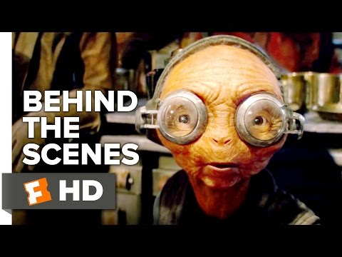 Star Wars: The Force Awakens Behind the Scenes - Maz Kanata Motion Capture (2015) - Movie HD