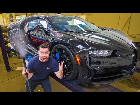 WRAPPING A $4.2 MILLION BUGATTI CHIRON!