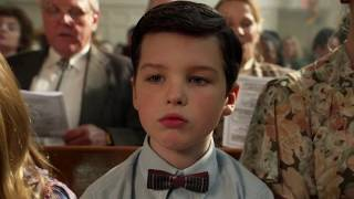 Sheldon in Church, Young Sheldon Episode 1