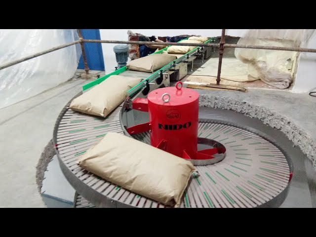 CANOPUS Bi-directional Spiral Conveyor For Food Industry - Nido Automation
