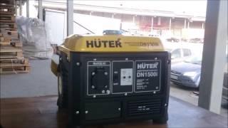 Инверторный Электрогенератор HUTER DN 1500iРаспаковка нового генератора и Обзор(Обзор и распаковка нового электрогенератора HUTER DN 1500i., 2016-09-25T16:27:24.000Z)