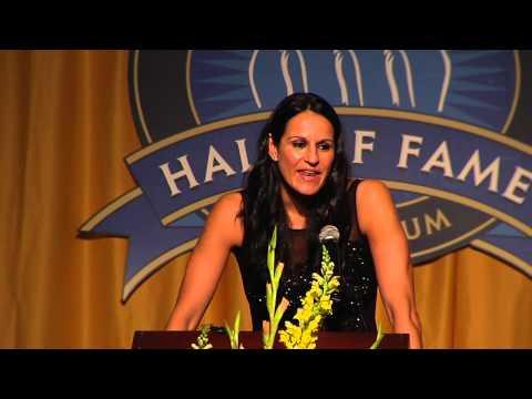 Ticha Penicheiro Virginia Sports Hall of Fame 2014 Induction Speech