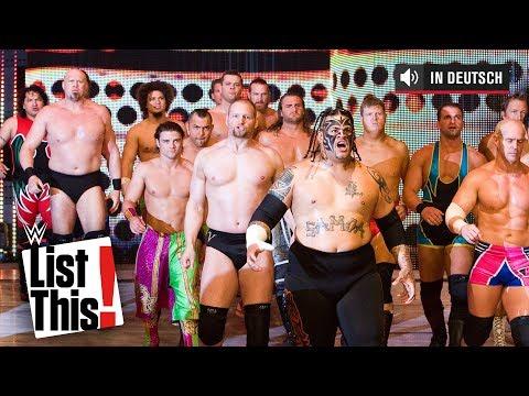 Die größten Tag-Team-Matches der WWE-Geschichte – WWE List This! (DEUTSCH)
