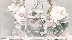 25th Anniversary Cakes in Delhi | Silver Jubilee Cakes for Parents Designs