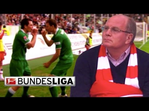 Wolfsburg vs. FC Bayern 2008/09 -- Grafite's 'goal of the century' and Bayern's 5-1 debacle