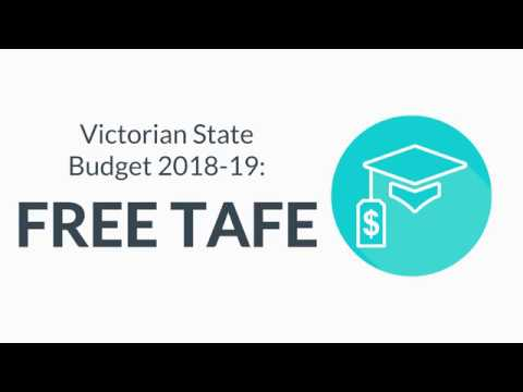 Victoria the Education State – FREE TAFE Courses!