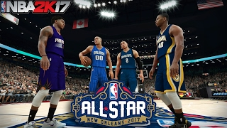 NBA 2K17 All-Star Weekend 2017 - (Slam Dunk Contest)