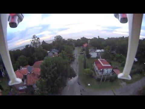primer vuelo drone syma 8x. colonia del sacramento