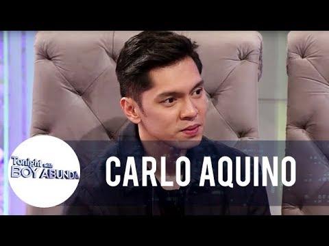 Carlo responds to Angelica Panganiban's statement about him | TWBA