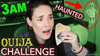 baby ghost caught on camera my first time ouija 3am haunted paranormal activity challenge scary