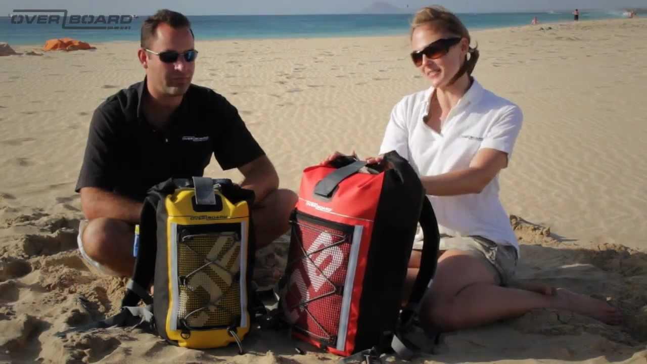 Waterproof Backpacks - OverBoard.mp4 - YouTube