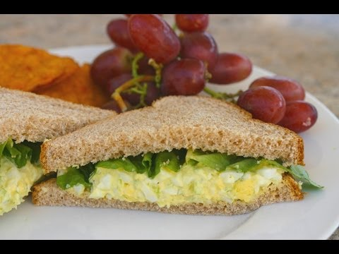 How To Make Egg Salad For Sandwiches And Lettuce Wraps Easy, Delicious! by Rockin Robin