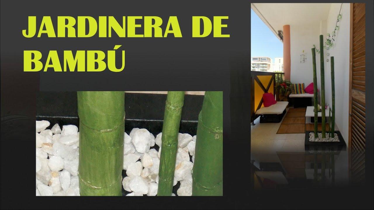 Bamb hecho con cart n decoraci n youtube - Decoracion con bambu ...