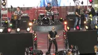 Nickelback at Thanksgiving Day Halftime 11/24/2011