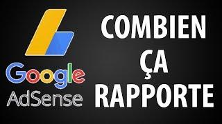 Les Revenus Google Adsense, Combien ça Rapporte ?