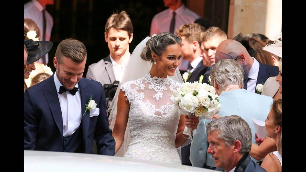 footballer tom cleverley marries towie star georgina