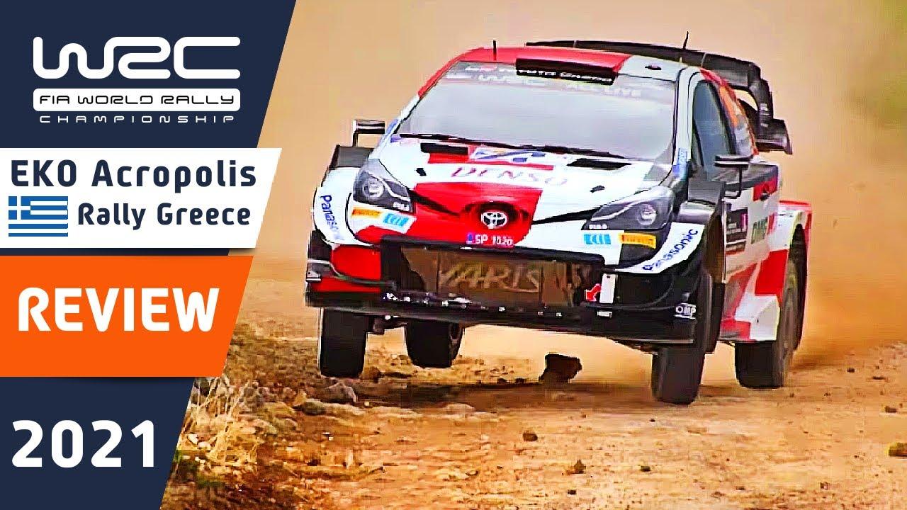 Review of WRC EKO Acropolis Rally Greece 2021 : Memorable Moments