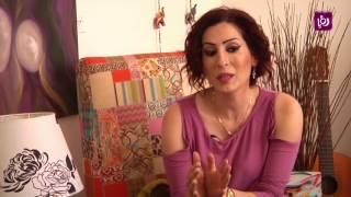 الفنانة التشكيلية لينا قادري