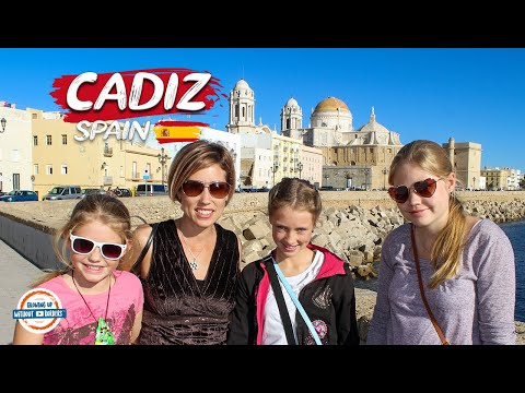 Discover Cadiz Spain | Travel Vlog of 80+ Countries w/3 kids