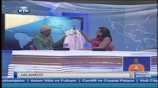 KTN Friday Briefing guest anchor : Jalang'o